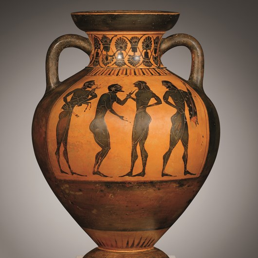 A Black-Figure Amphora