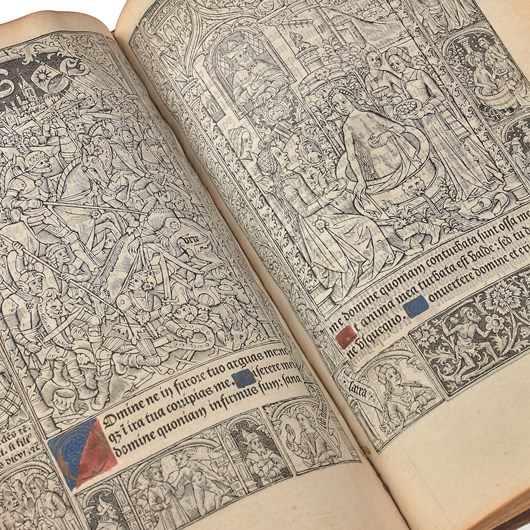[Book of Hours of Roma]. Paris, P. Pigouchet, 1498.