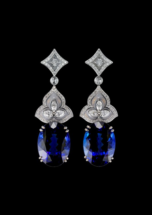 'Merelani Suite' Tanzanite Earrings