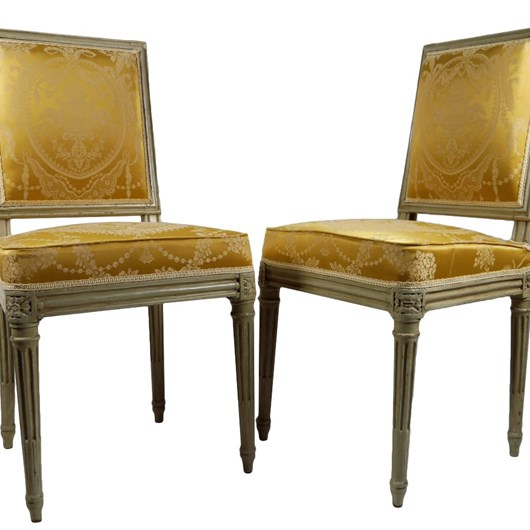 Pair of chairs by Boulard, Palace of Compiegne