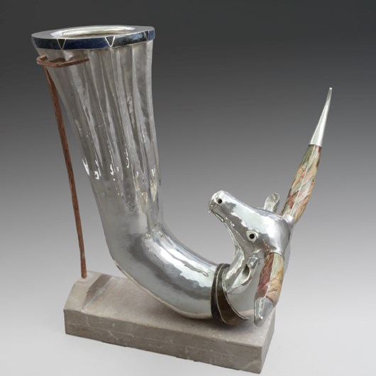 Rhyton with beautiful horns