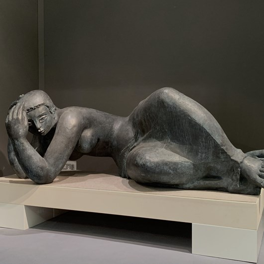 MÉLANCOLIE (reclining woman)