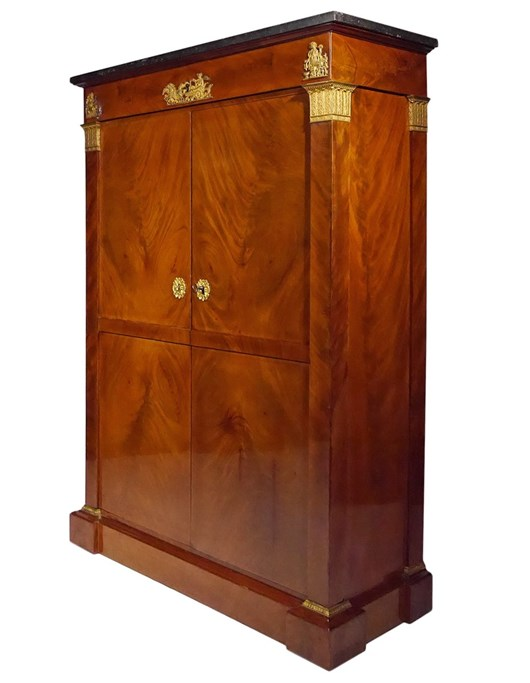 An Empire wardrobe by Thomire, Duterme et Cie.