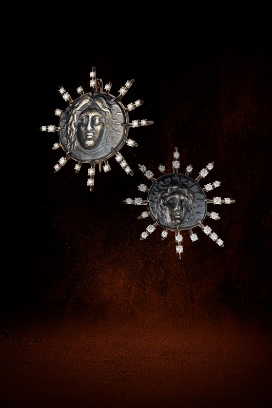 """""""Helios"""" Brooches"""