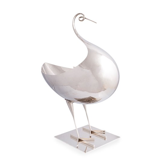 Large bowl (jardinière) in the form of a bird, 1970s